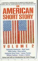 Image for The American short story
