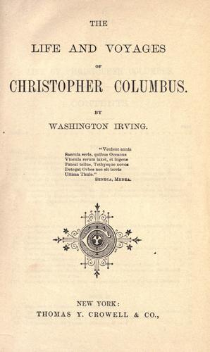 Download Life and voyages of Christopher Columbus