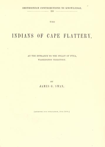 Download The Indians of Cape Flattery
