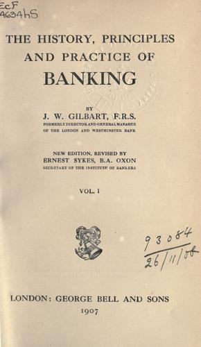 Download The history, principles, and practice of banking