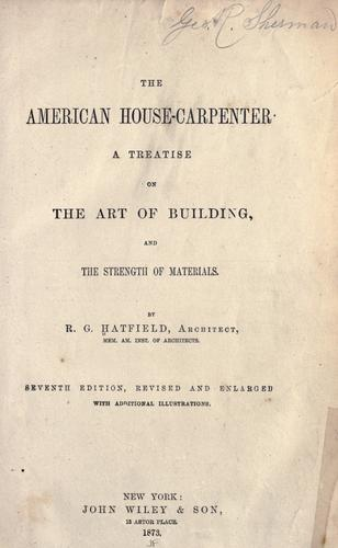 Download The American house-carpenter