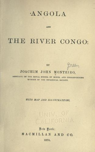 Download Angola and the River Congo