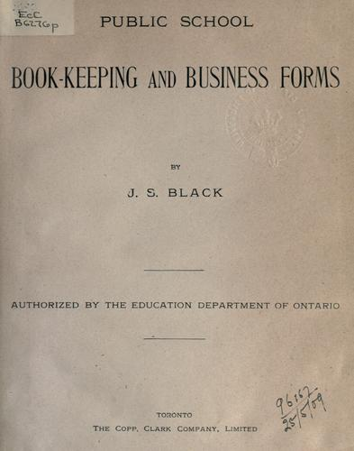 Public school book-keeping and business forms.