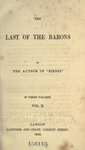 Download The last of the barons