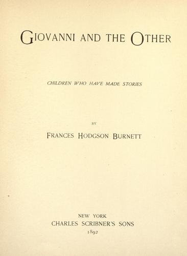Download Giovanni and the other