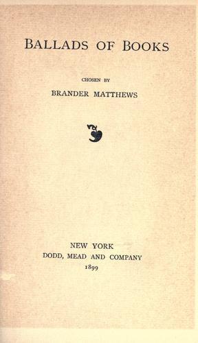 Download Ballads of books.