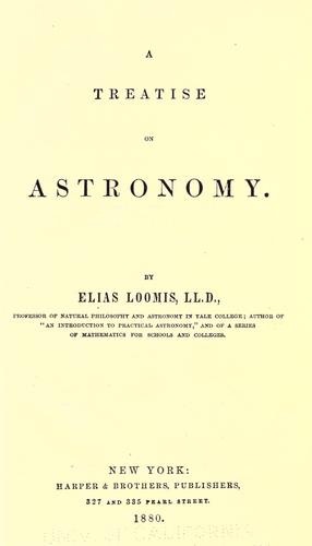 Download A treatise on astronomy.