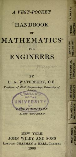 Download A vest-pocket handbook of mathematics for engineers