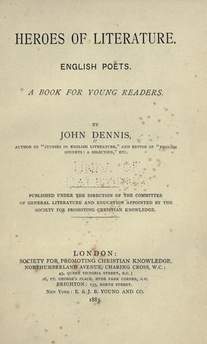 Download Heroes of literature.