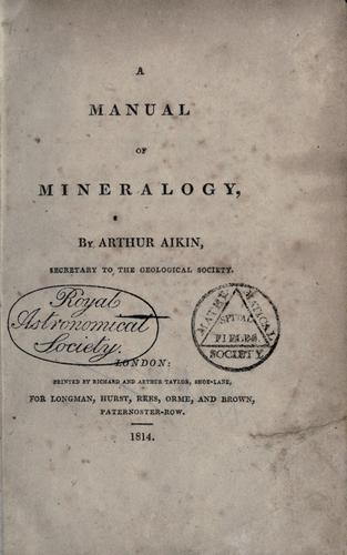 Download A manual of mineralogy.