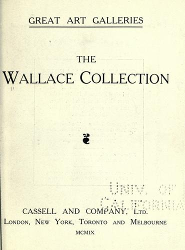 Download The Wallace collection.
