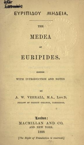 Euripidou Medeia.