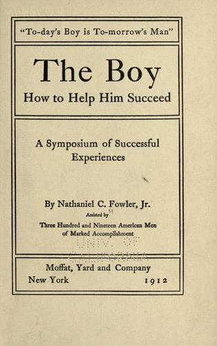 The boy, how to help him succeed