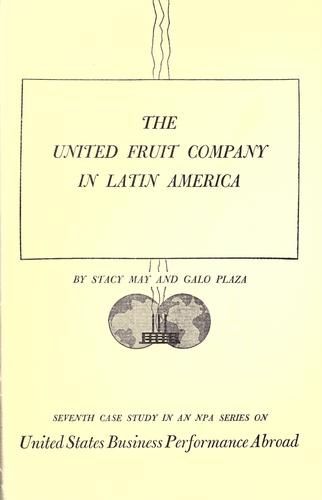 Download The United Fruit Company in Latin America