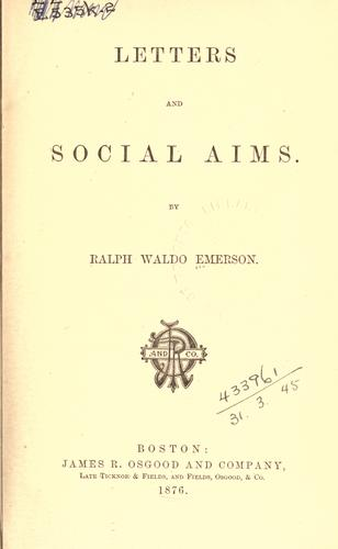 Download Letters and social aims.