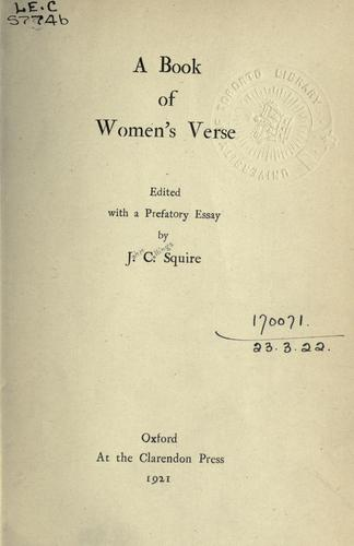 Download A book of women's verse
