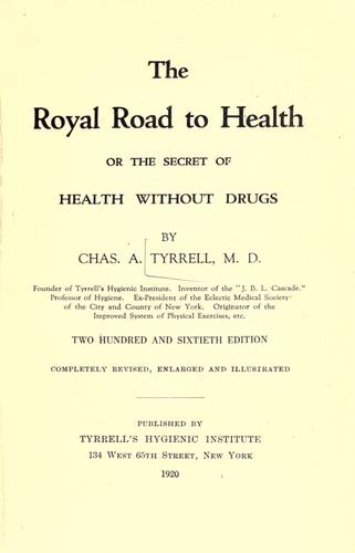 The royal road to health