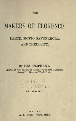 Download The makers of Florence