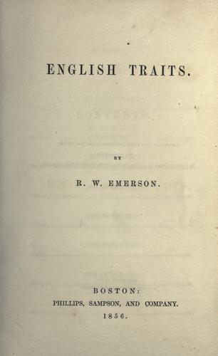 Download English traits