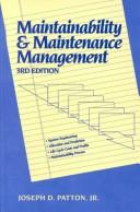 Download Maintainability and maintenance management