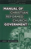 Download Manual of Christian Reformed Church government