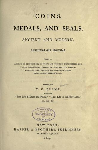 Coins, medals, and seals, ancient and modern