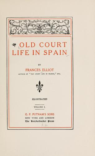 Download Old court life in Spain
