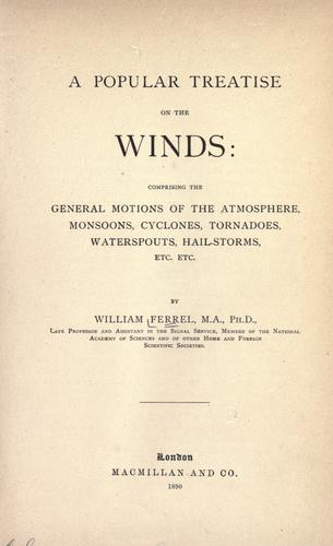 Download A popular treatise on the winds