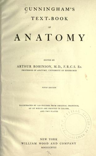 Download Textbook of anatomy