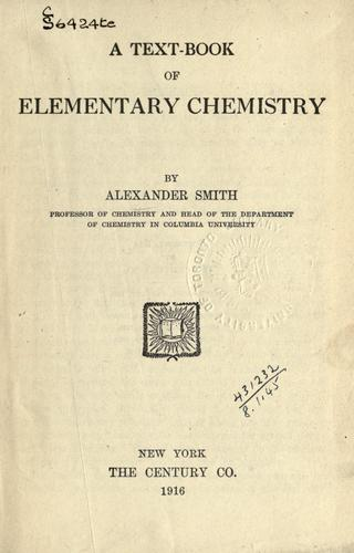 Download A text-book of elementary chemistry.