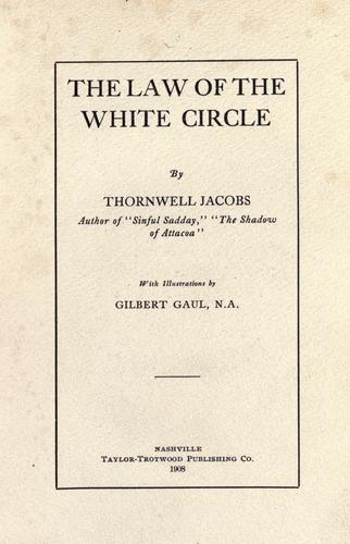 The law of the white circle.