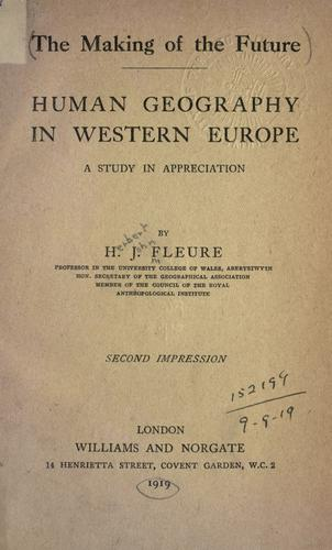 Download Human geography in western Europe