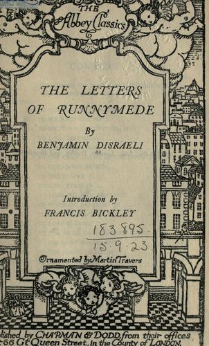 The letters of Runnymede