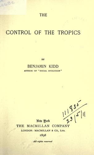 The control of the tropics.
