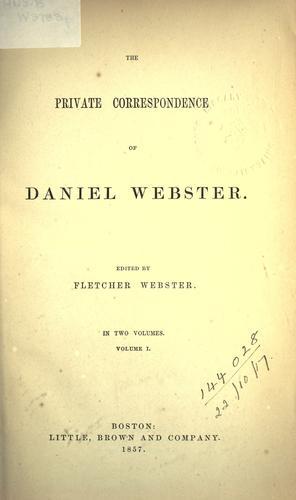 Download The letters of Daniel Webster