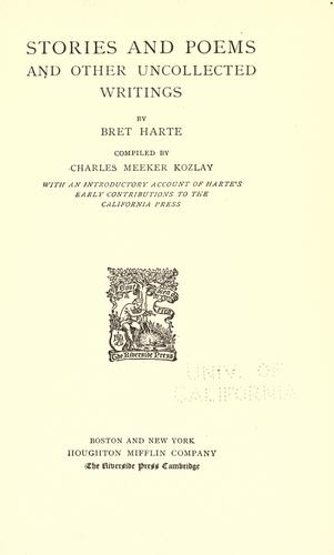 Download The  writings of Bret Harte.