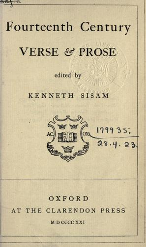 Fourteenth century verse and prose.