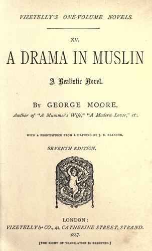 A drama in muslin