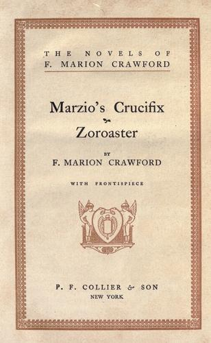 Download Marzio's crucifix. Zoroaster.