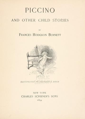 Download Piccino, and other child stories