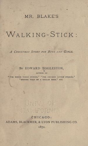 Download Mr. Blake's walking stick