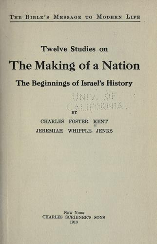 Download Twelve studies on the making of a nation