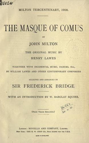 The masque of Comus.