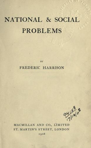 Download National and social problems.