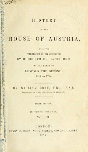 History of the House of Austria