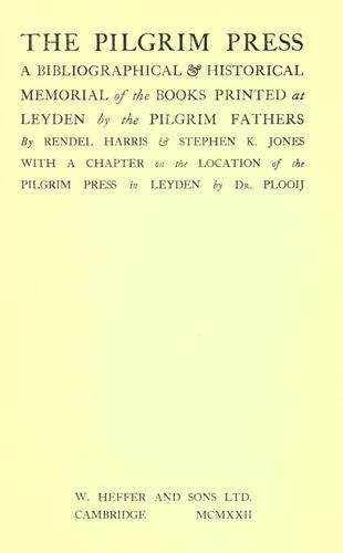 The Pilgrim press