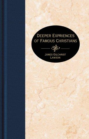 Download Deeper experiences of famous Christians