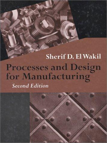 Download Processes and Design for Manufacturing
