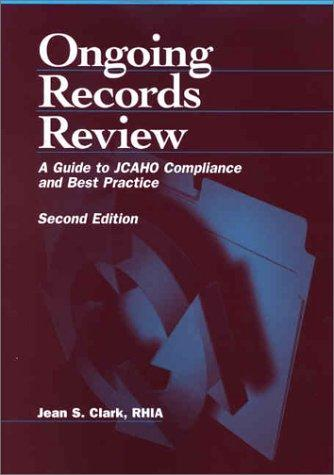 Ongoing records review by Jean S. Clark