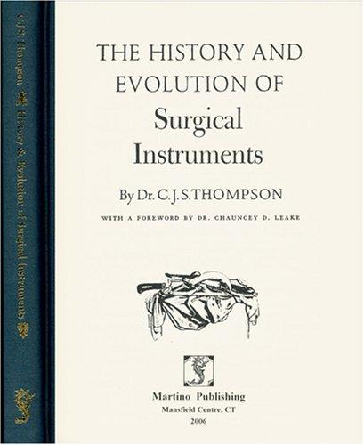 Download History and Evolution of Surgical Instruments